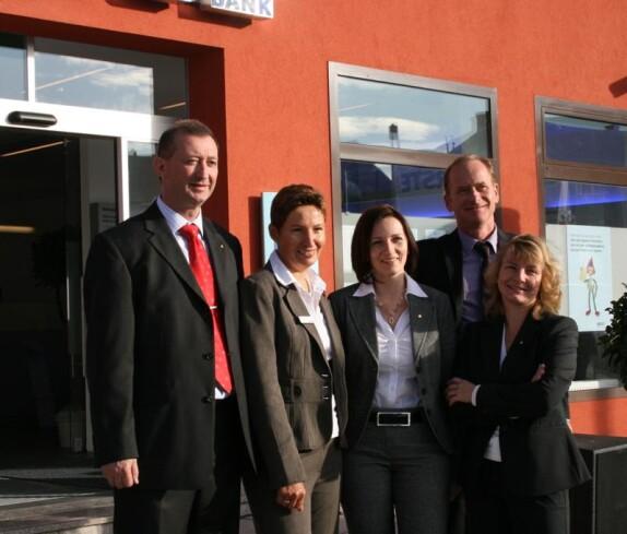 Eröffnung der Erste Bank